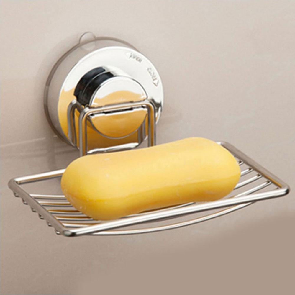 ステンレス ソープホルダー 石鹸ホルダー ソープボックス バスルーム 風呂 洗面台 【日用雑貨】 ◇SOAP-HOLDER【定形外郵便】