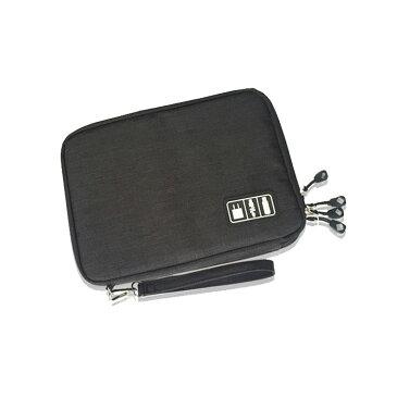 モバイルアクセサリー 収納ケース ポーチ インナーバッグ ソフトケース USBメモリ収納 充電ケーブル収納 多機能メッシュ整理袋 PC周辺小物 モバイル用品【メール便】◇SND002