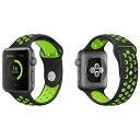 Apple Watch用 スポーツバンド カラフル ベルト シリコン 38mm/42mm アップル ウォッチ 【メール便】◇IWATCH-2SP