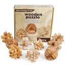木製 立体 パズル 知育玩具 組立 積み木 おうち時間 カラクリ 創造力 思考力 頭の体操 知恵の輪