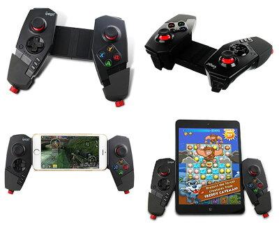 ipega/iPhone6s対応/ゲームコントローラー/iOS/Android端末対応/スマホ/タブレット/Bluetooth◇PG-9055