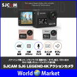 SJCAM SJ6 LEGEND 日本代理店経由 正規品 ウェアラブル カメラ アクション 4K動画 広角166度 Wifi 外部 リモコン 手ブレ防止 タッチ操作 防水ケース 対応 ◇SJCAM-SJ6