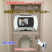 モニター スコープ ドアスコープカメラ
