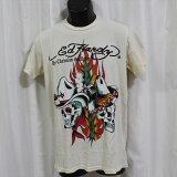 エドハーディーedhardyメンズ半袖Tシャツアメリカ製M02BSC393