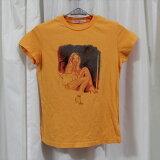 パメラアンダーソンPameraAndersonレディース半袖Tシャツオレンジアウトレット新品