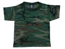 ロスコROTHCO2〜3歳用迷彩柄半袖Tシャツ