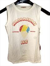 キャメロンハワイCameronHawaiiレディースノースリーブTシャツオフホワイト