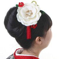 髪飾り花2点セット成人式振袖卒業式袴結婚式ウエディングドレス浴衣ベルベットピオニー・天鵞絨牡丹・〈全2色〉