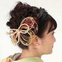 髪飾り和modernMIZUHIKIりぼんプラネット袴卒業式振袖おしゃれ浴衣正月