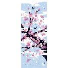 【濱文様・絵てぬぐい】花吹雪