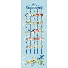 【濱文様・絵てぬぐい】端午の吊るし飾り〜鯉のぼり・端午の節句・歳時記柄〜