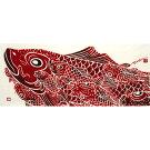 【にじゆら・手ぬぐい】Carpisdragoninheaven〜縁起・鯉のぼり・端午の節句柄としても〜
