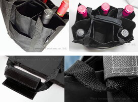 プルテックスワインバッグ6本用ブラック