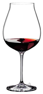 ピノ・ノワールの赤もシャンパンも楽しめるワイングラスリーデル ヴィノムエクストラ・ラージオ...