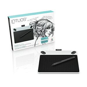 Intuos Draw small ホワイト (CTL-490/W0) ワコム ペンタブレット…