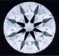 ダイヤモンドルース0.3ctD-VVS1-3EX(H&C)中央宝石研究所鑑定書付