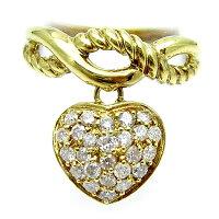 K18イエローゴールドダイヤモンドリング♪