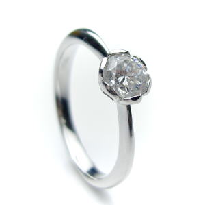 ブライダルジュエリー・アクセサリー, 婚約指輪・エンゲージリング 0.3ct.D-VVS2-3EX(HC)PT)