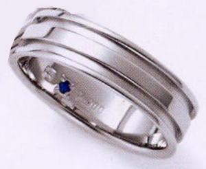 ★お買い得特別価格!!★RomanticBlueロマンティックブルー4RK013 (32)マリッジリング・結婚指輪・ペアリング用(1本)