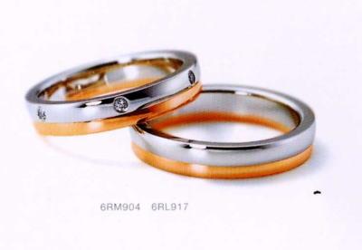 ★NINA RICCI【ニナリッチ】(27)6RM904-2 ダイヤ&(28)6RL917-2 2本セットマリッジリング・結婚指輪・ペアリング