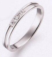TrueLove(トゥルーラブ)(4)P702D卸直営店お得な特別割引価格Pt900プラチナマリッジリング・結婚指輪・ペアリング(1本)
