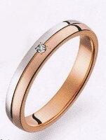 TrueLove(トゥルーラブ)(34)M375DPt-900プラチナ&K18PGピンクゴールドマリッジリング・結婚指輪・ペアリング