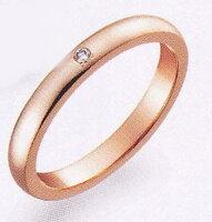 TrueLove(トゥルーラブ)K007PDK18PGピンクゴールドマリッジリング・結婚指輪・ペアリング