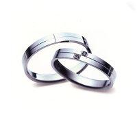 Sarasaサラサ更紗SR-264&SR-263(ダイヤ)=2本セットK10WGホワイトゴールドマリッジリング・結婚指輪・ペアリング(2本)