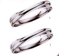 ★【お得な卸直営店価格はお問合せ下さい】★ily【アイリー】FHPA10Pt-900マリッジリング・結婚指輪・ペアリング