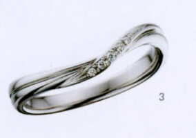 ★【卸直営店のお得な特別割引価格!!!】★ily【アイリー】(3)FHPA12Dマリッジリング?結婚指輪?ペアリング(1本)