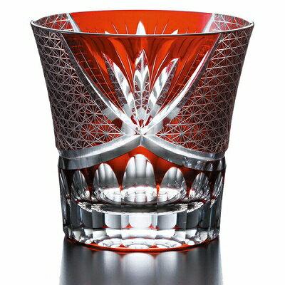 NARUMI ナルミ スワール ロックグラス(赤) 280cc GW6053-223RD