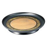 A 水明盛器 金雲金環裏黒乾漆塗 尺3寸 1204062