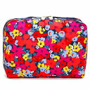 LeSportsac レスポートサック ポーチ EXTRA LARGE RECTANGULAR COSMETIC BRIGHT ISLE FLORAL