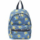 LeSportsac レスポートサック リュックサック WANDERER BACKPACK DENIM PATCHES