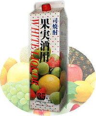 【焼酎甲類】35度 司焼酎果実酒用 ホワイトリカー1800mlパック