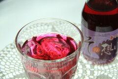 厚田産・無農薬栽培のしそを使用した、爽やかなしそジュースです。赤しそ6本、青しそ6本をセッ...