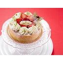 【クリスマスケーキ予約販売】「銀座千疋屋」 ベリーたっぷりのホワイトクリスマス