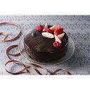 【クリスマスケーキ予約販売】「銀座千疋屋」 ベリーのチョコレートケーキ【お届け期