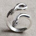 ヘビリングへび蛇十二支干支巳年指輪SILVER925