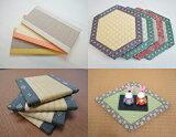 ミニ畳【ミニ畳 B4】サイズ 約26×36cm畳表「ダイケン和紙表」「国産い草表」