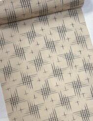 正絹絹芭蕉着物夏物夏絹ばしょう反物絹芭蕉着尺夏おしゃれ伝統工芸織シルク幅:38cm着尺日本製手織茶色ブラウン手作業の作られるため色むら横段縦すじ糸の節等があります