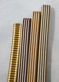 三部紐正絹Mサイズ和装小物シルク帯締め帯〆茶系茶色ブラウンメール便レターパック対応可代引き不可ヤマトコンパクト対応