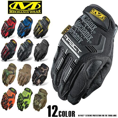 20%OFFクーポン対象品!Mechanix Wear メカニックスウェア M-Pact Glove エムパクトグローブ メン...