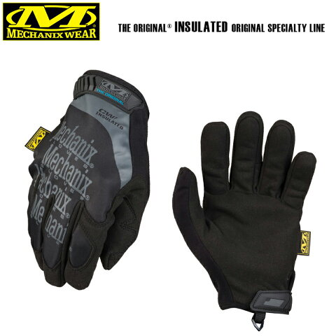 【20%OFFセール開催中】Mechanix Wear メカニックスウェア Original Insulated Glove オリジナルインシュレーテッドグローブ MG-95 BLACK メンズ ミリタリー グローブ 手袋 装備 バイク レース サバゲー サバイバルゲーム メカニックス グローブ 冬