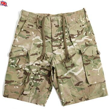 【25%OFF大特価】実物 イギリス軍コンバットショートパンツ Multi Terrain Pattern(MTP) 【中古】【軍放出USED】 上品でシャープな迷彩パターンは一味違って街中でも目を引きます。《WIP》 ミリタリー 男性 春 ギフト プレゼント