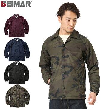 【15%OFFクーポン対象】BEIMAR ビーマー Coaches Jacket Modern Fit ナイロン コーチジャケット モダンフィット WB103M ライトアウター ストリート アメカジ ミリタリー ナイロンジャケット ブルゾン カモフラ 迷彩 《WIP》