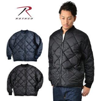 ROTHCO 羅斯鑽石尼龍絎縫飛行夾克鑽石絎縫飛行夾克男式軍事外衣夾克擊球夾克絎縫夾克飛行夾克寒冷的冬天