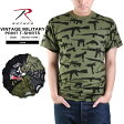 ROTHCO ロスコ ヴィンテージ プリントTシャツ メンズ ミリタリー 半袖《WIP》 男性 春 ギフト プレゼント