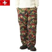 ★クーポンで今だけ10%OFF!実物 スイス軍 M-83 フィールドパンツ USED アルペンカモ 軍パン《WIP》 ミリタリー 男性 春 ギフト プレゼント