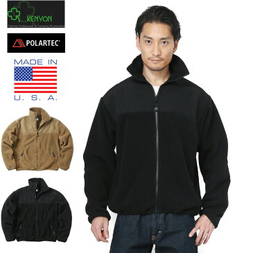 【20%OFF大特価】KENYON ケニヨン MADE IN USA 米軍使用 ECWCS POLARTEC TASLON フリースジャケット《WIP》ミリタリー 軍物 メンズ 男性 ギフト プレゼント